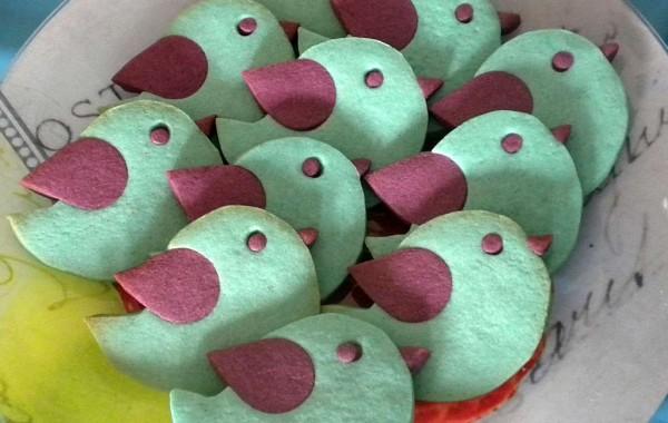 Galletas: pájaros