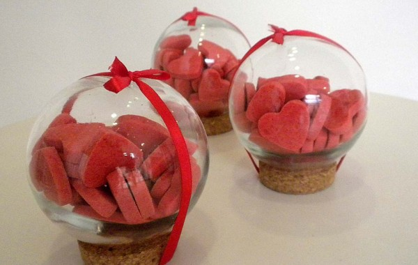 Bolas de cristal muy dulces