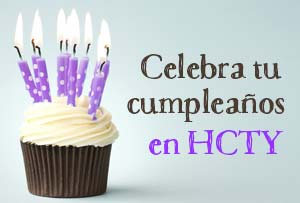 Celebra tu cumpleaños con nosotros