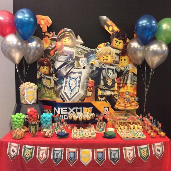 Mesa Dulce Lego Nexo Knights