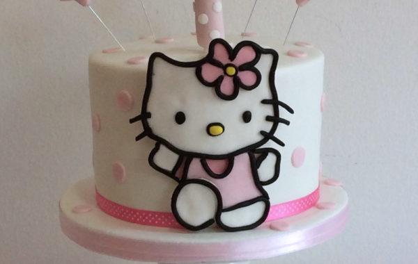 Hello Kitty primer cumpleaños