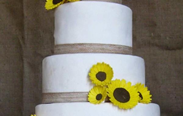 Una boda con girasoles