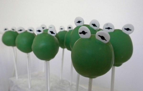Cake Pops: rana Gustavo