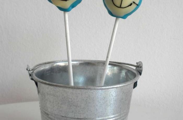 Cake Pops: Doraemon