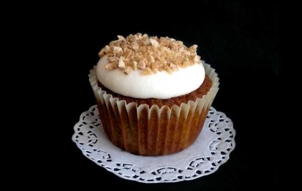 Cupcake de carrot cake