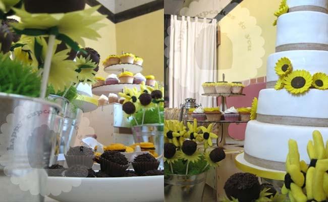 girasoles_01Sweet Table para la boda de Pablo & Laura