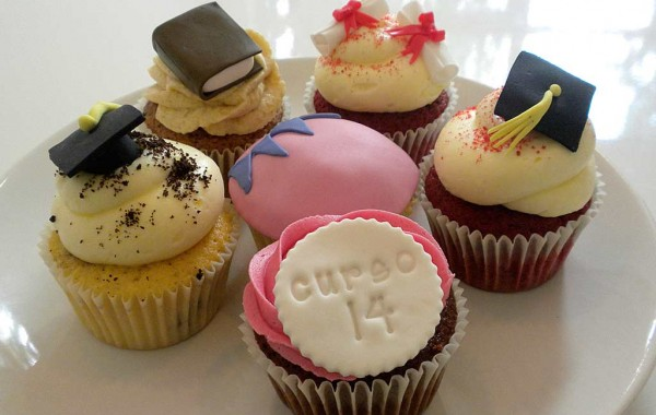 Graduación cupcakes