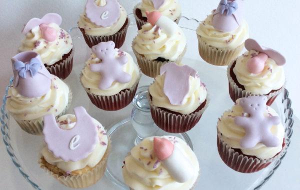 Cupcakes Bautizo/Baby shower