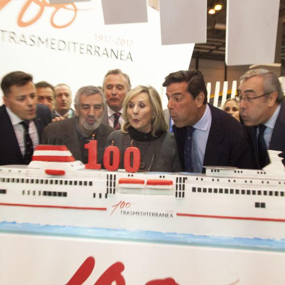Tarta Barco Trasmediterranea