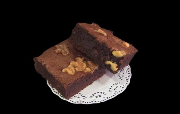 Brownie de nueces clásico