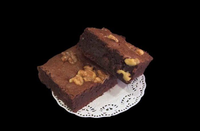 Brownie de nueces clásico