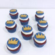 Héctor little bear prince cupcakes